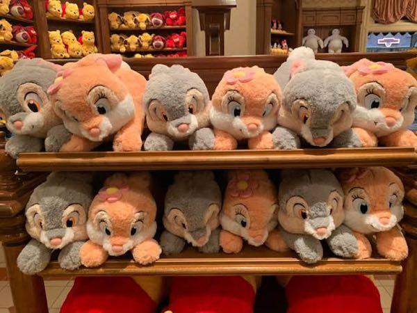 ディズニー ランド で とんすけ と ミスバニー の 抱き枕 はいま販売されていますでしょうか? この写真のものです。