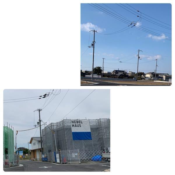 電信柱、電柱に詳しい方、教えてください。 新築予定の分譲地の電柱の高さを知りたいです。 電柱というのは規格ものなのでしょうか? この画像を見て頂いて、詳しい方なら高さが分かりますでしょうか? どうぞ宜しくお願いします。
