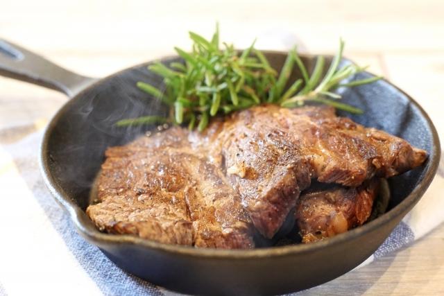 スキレット+固形燃料の熱量は十分ですか? 例えばステーキを焼くのにいかがでしょうか?