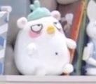 韓国ドラマに出てきたぬいぐるみなのですが、このぬいぐるみの名前を知っている方いますか??