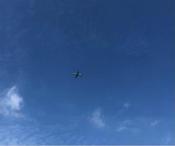 本日13:50に江戸川上空を飛行していた飛行機です。 プロペラのようなものがついていたので珍しいと思い撮影したのですが、これは何の飛行機でしょうか?