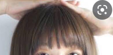こんな前髪にしたいんですが、どうやったらなりますか?