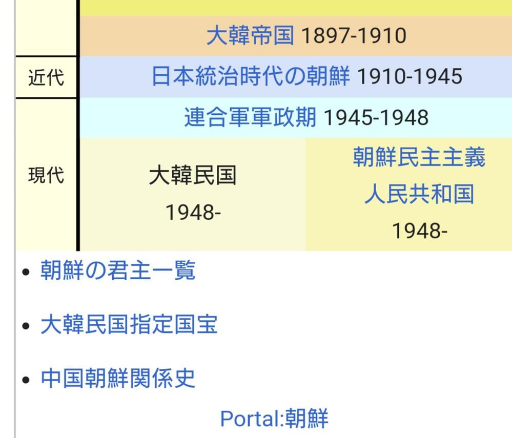 日清戦争前は朝鮮( 朝鮮半島の全部 )を日本と清とで争っていたと思いますが、 日露戦争後の韓国併合になったら韓国を朝鮮と呼ばれるようになったとあります。 (ちなみに、上記の部分で間違っている所がありましたら教えて欲しいですm(*_ _)m) 日露戦争後の韓国とはどこでいつ建国されたのでしょうか? それと、Wikipediaから大韓民国を調べてみたら『大韓帝国』というものが出てきました。これもどこにあるのか教えて頂きたいです。