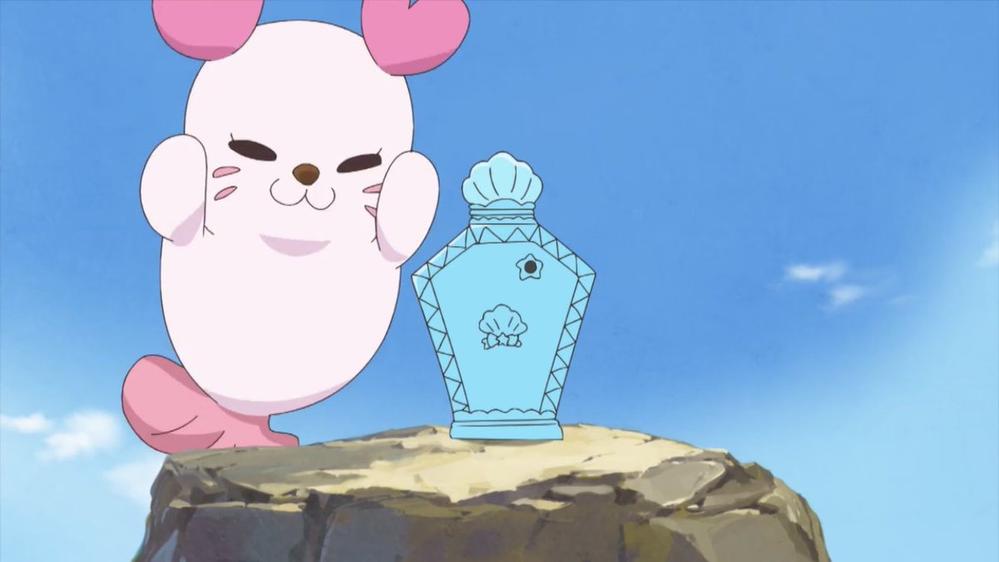 「トロピカル〜ジュ!プリキュア」 くるるん、マーメイドアクアポット操作出来たのは意外でしたか?(^-^)