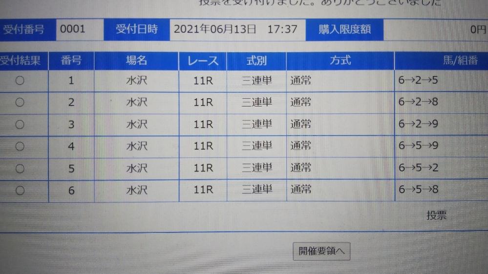 ☆ジュンヴァルです。水沢競馬「東北優駿」 6/13・日曜日。18時15分発走。 予想をお願いします。 私の買い目です。