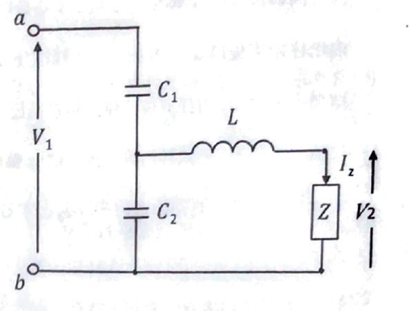 画像回路のab間のインピーダンスとC2の両端電圧Vcの求め方を教えてほしいです... (振幅一定の電圧V1、電源の各周波数ω) 電気回路の授業から日が空いたためどのように求めるのかをすっかり忘れてしまいました。ご助力願います。