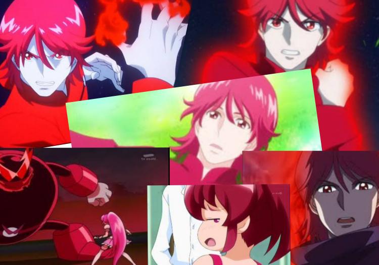 プリキュアで赤いキャラクターと言えば誰ですか?(^-^)