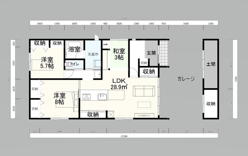 間取りの評価をお願いします。平屋で親子3人で住むように考えました。 設計士に見せる前に明らかにおかしいところなどあれば教えてください。 延床で26坪、建築面積は38坪です。 https://realestate.yahoo.co.jp/knowledge/chiebukuro/detail/10190039155/