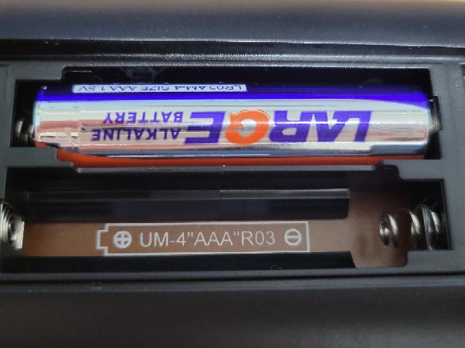 この電池って単4でいいんですよね?? ※テレビのリモコンです