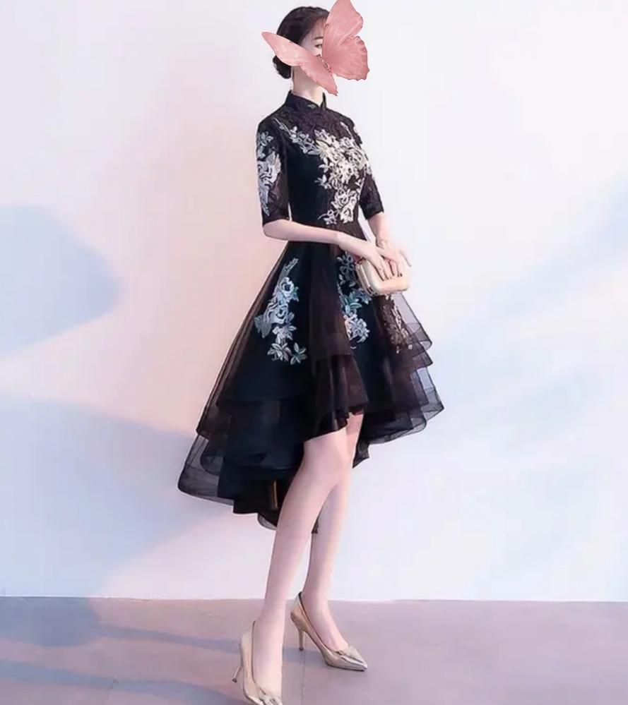 よくセレクトショップなどで見かける 首元がチャイナデザインのこのドレスは どういった場所で着れるものでしょうか? 結婚式に出席する時には非常識でしょうか?