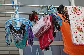 女性に質問。 洗濯物干す際、下着をどうやって干すとかを気にしますか?