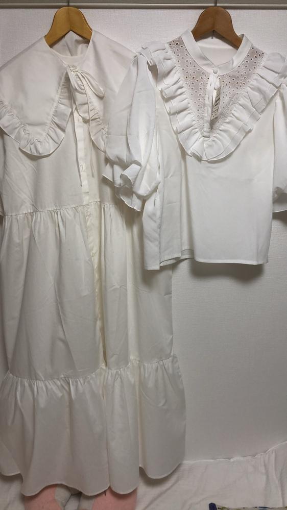 画像左側のワンピース、下着などが透けるのですが上の下着はなんとかなるんですけど下はどのようにすれば良いのですか?