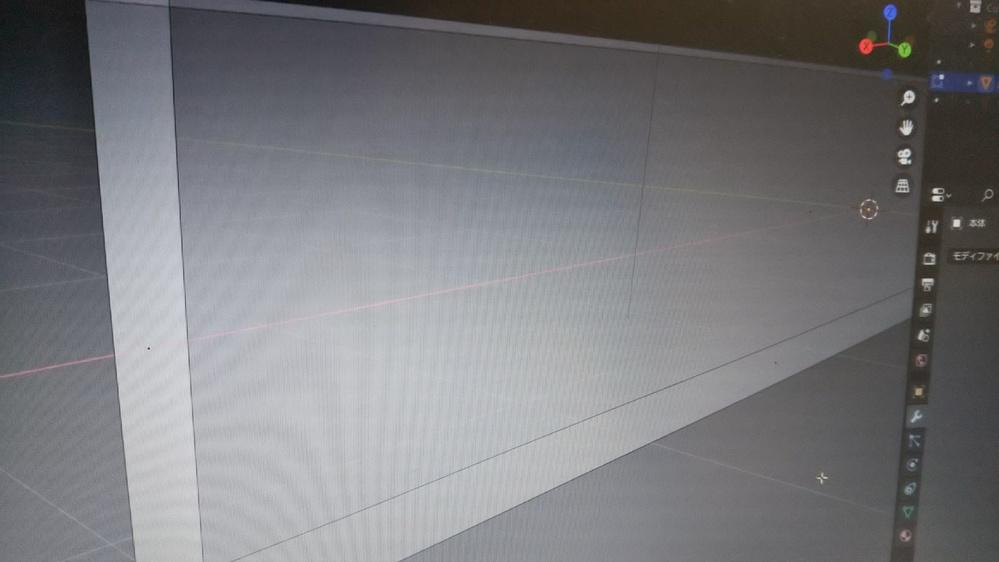 blenderで面選択が出来なくなっていて困っています。 画像のように、オブジェクトの各面に小さな黒い三角形のようなものが現れて、面選択ができません。どうやったら面選択できるようになりますか?