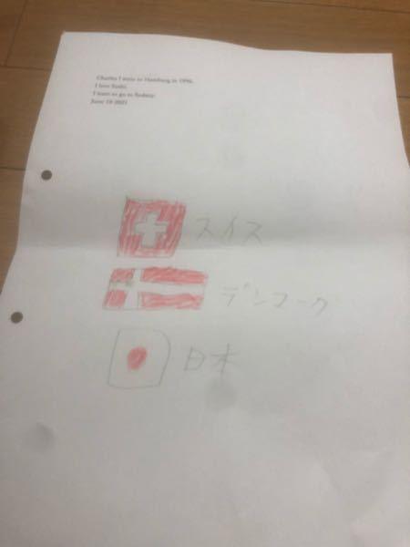 なぜスイス デンマーク 日本の国旗は赤と白なの?