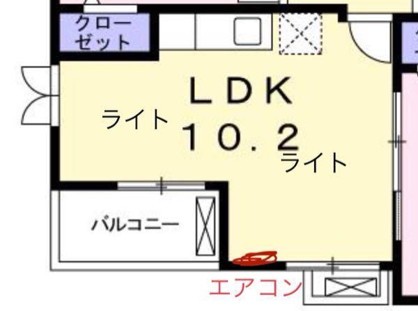 間取り相談お願いします。 2LDKに引っ越したのですが、 LDKの部屋の配置が分かりません。 主に、テレビの位置と、食卓テーブルの位置、ソファの位置がしっくりきません。 テレビの配線などはエ...