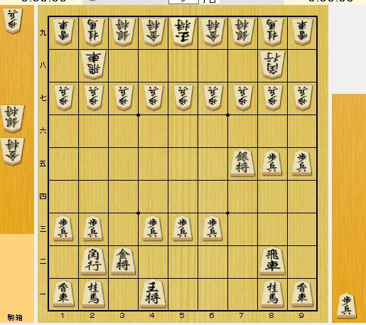 真珠湾攻撃を将棋盤で表したらこんな感じでしょうか?先手日本、後手アメリカです。