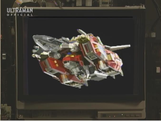 アニメや特撮作品の中で「2機以上のマシンが合体した、ロボ以外の巨大マシン」と聞き、思い浮かべるのは何ですか? 下記は『ダイナファイターとキングジェットが合体した巨大戦闘機ドラゴンフォートレス』です。