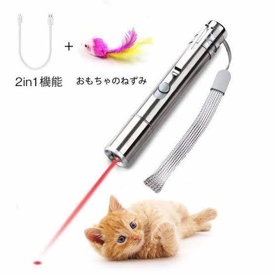 猫のおもちゃで懐中電灯、レーザーポインター のようなもに興味があるのですが 物体がなく猫が捕まえることのできない光なので ストレスなどに繋がることってありますか? 猫じゃらしなどだと、手で抑え噛んだりしますが レーザだと抑えることも噛むこともできません 人間の自分からすると、何度やっても捕まえることができなかったら、イライラします。 猫にそのような感情は、ないのですかね… ストレスだけでは、なく 光による目へのダメージなども不安です‥ レーザだときっと遊んでくれるかな? と、思ったので安全なら購入してみたいです。 心配性過ぎてごめんなさい‥ 大切な愛猫なので、一緒に遊びたい気持ちより 安全が第一です。 安全性、ストレスの原因にならないか?を どうか、教えてください!