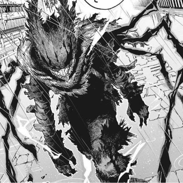 僕のヒーローアカデミアの主人公が化け物みたいな見た目に変身?するのは漫画の何話目からですか? またアニメでは登場したのでしょうか? もう一つですが、変身前と変身後では戦闘力は変化しますか?