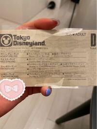 ディズニーのチケットについて、至急教えて頂きたいです。 このチケットを貰ったんですが 使い方として  当日、入園時にこれを入口で見せて、入場料8000円程を払う  で間違いないでしょうか?