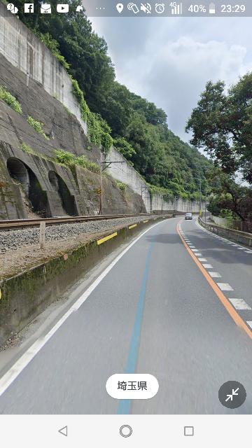 埼玉県寄居町の道路の一部ですが、このトンネル?みたい部分はなんですか?そのうちダムの一部になるということですか?