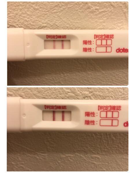 先日も妊娠検査薬のことで質問させていただきましたが、 毎回薄くて化学流産なのかなと思いながら、様子見ながら検査してるのですが、 本日もやはり検査1分ぐらいは上の薄さでした。 30分後位にたまた...