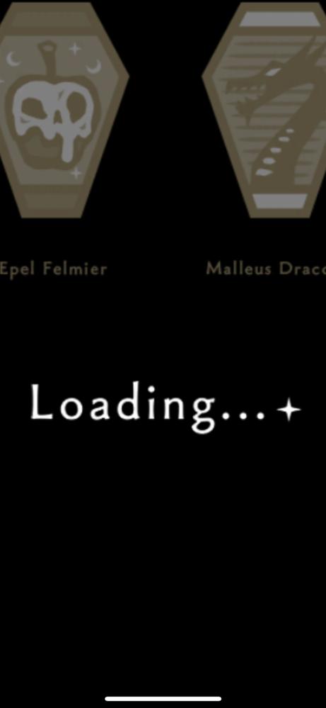 ツイステのローディング画面にキャラクターロゴが表示されますが、名前の部分のフォントがわかる方いらっしゃいましたら、 ご教示いただけないでしょうか。