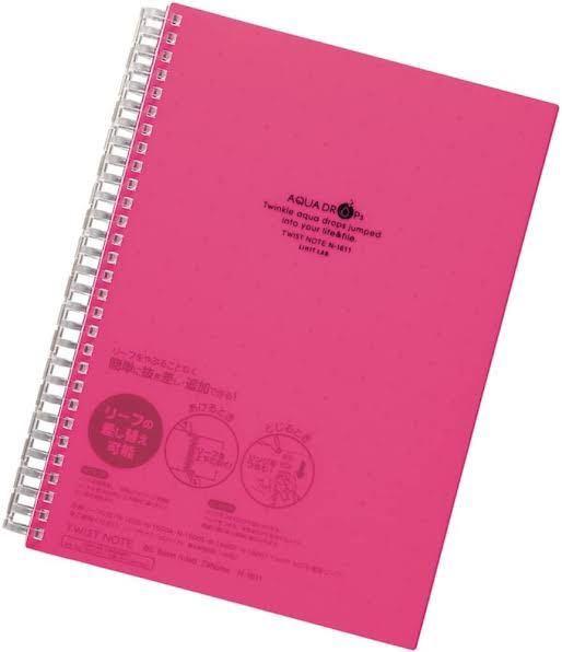 このノートが欲しいのですが最大で大体何枚くらいの紙を挟むことができるのかご存知の方いらっしゃいますか??