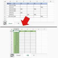 Excel VBA コード記載方法 について ご教示ください。 画像の表は同じファイルの別シートです。   画像(上)→シート名:「sheet1」  画像(下)→シート名:「一覧」   「一覧」のB列、C列に、  「sheet1」内で、同じ日付に該当するOK数、NG数をカウントしたいのですが、VBAのコードをどのように記載したら良いのか分からずに困っております。    どなたかExcel V...