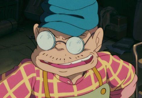 映画『紅の豚』で出てくるピッコロのおやじさんはなぜ髭が生えてるのでしょうか? 自らモグラという登場人物もいますし、何かの生き物なのでしょうか?