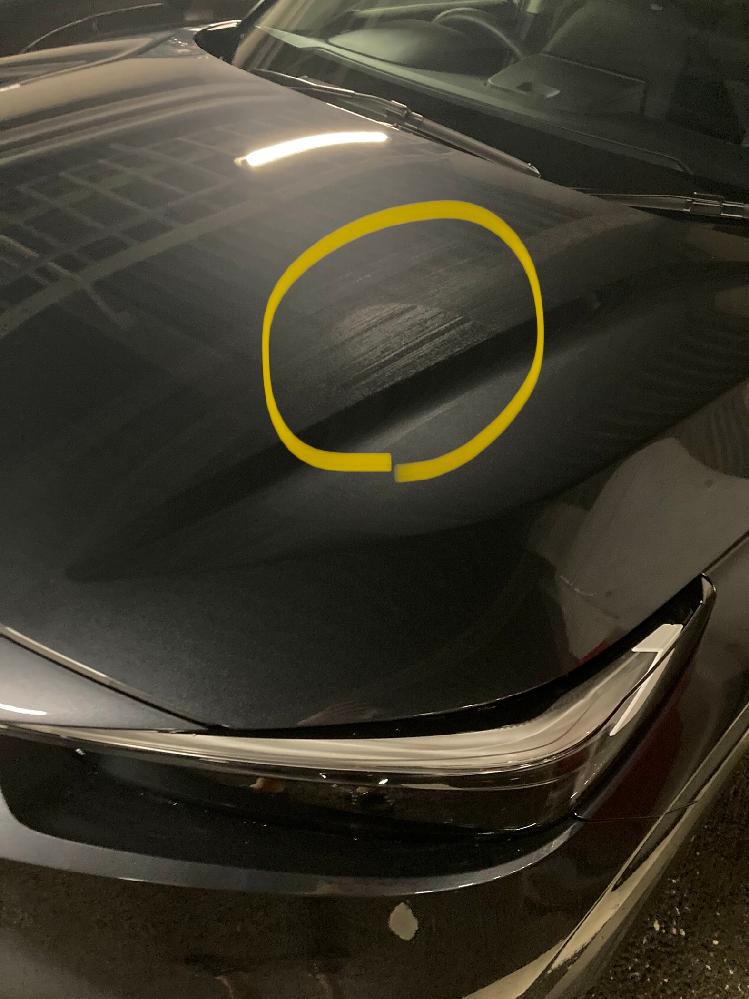 新車納車後車になぞのムラがあり、ディーラーに対応してもらったのですが、まだうっすらムラが残ってます。 雨が降った後にボディを拭くとムラがある場所だけ変な水の残り方をします。 ガラスコーティングの...