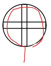 第二種電気工事士 実技試験 について ランプレセプタクルの欠陥についてなのですが、赤い線の最後の部分がねじからはみ出ているとしたらこれは欠陥になりますか? 黒い丸がねじで赤い線が心線です。
