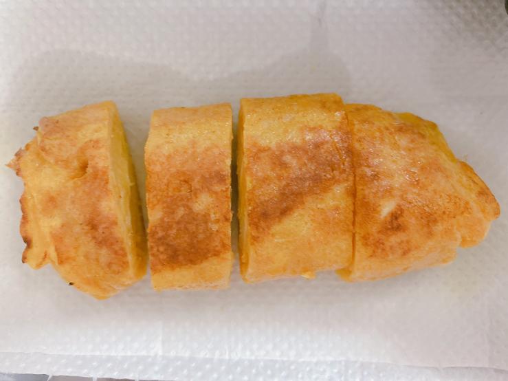 これはデッサンになりますか?!⸜( ◜࿁◝ )⸝この自作卵焼きをスケッチするのもデッサンになりますか?⸜( ◜࿁◝ )⸝