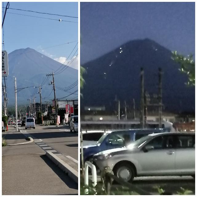 仕事で山梨県の河口湖に住んでます せっかく住んでるのだから 派遣なのでいつ異動するかも 出不精だけど でも富士山には 魅了されてます 10日くらい雨や曇り空で 富士山も見えなくて 金曜日から晴...