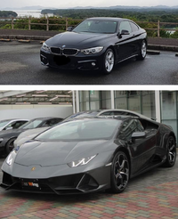どちらの車がかっこいいですか?