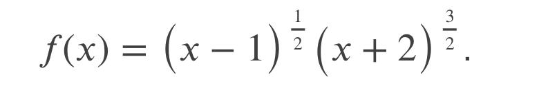 誰かお願いします...! 画像にある関数の臨界数(critical number)を求めるやり方を教えてください。