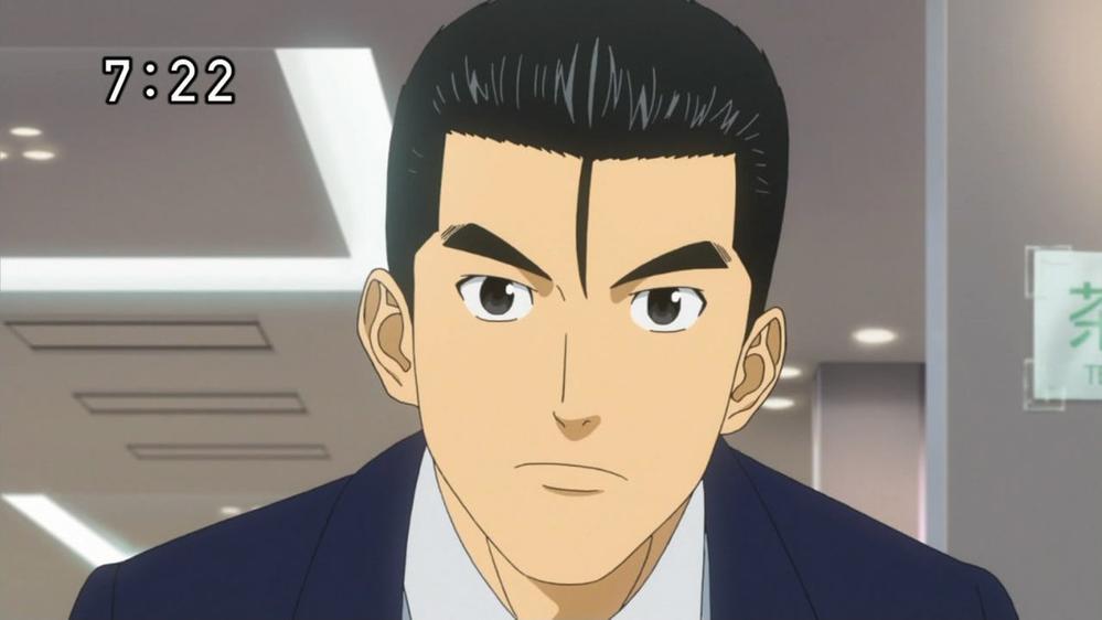 「宇宙兄弟」の真壁ケンジと同じような髪型のキャラクターを教えて下さい。