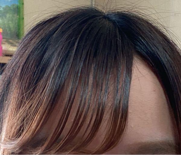 これは前髪固めすぎですか??