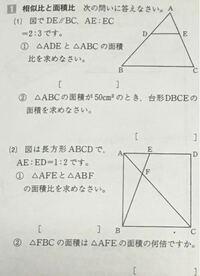 中学 数学 相似 この問題を教えてください!