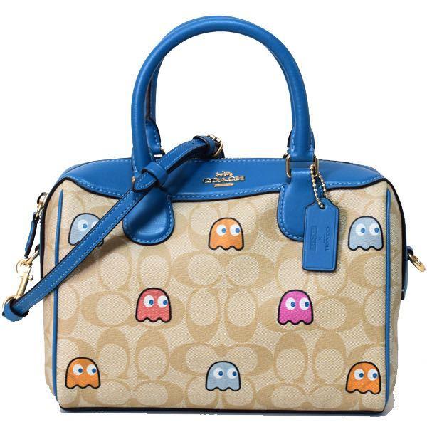 パックマンコラボの こちらのコーチのバッグに偽物はありますか? 偽物があるのなら見分け方を教えて下さい。