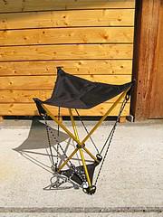 HAGLOFSのアウトドアチェアが廃盤になっているようです。 登山とか結構使えたんですが、こういった軽量の椅子は他にどんなモノがありますか?