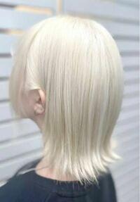 ブルベ冬にこの髪色は似合わないですか?