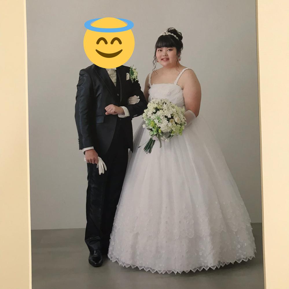 結婚式の写真です。 どうですか?