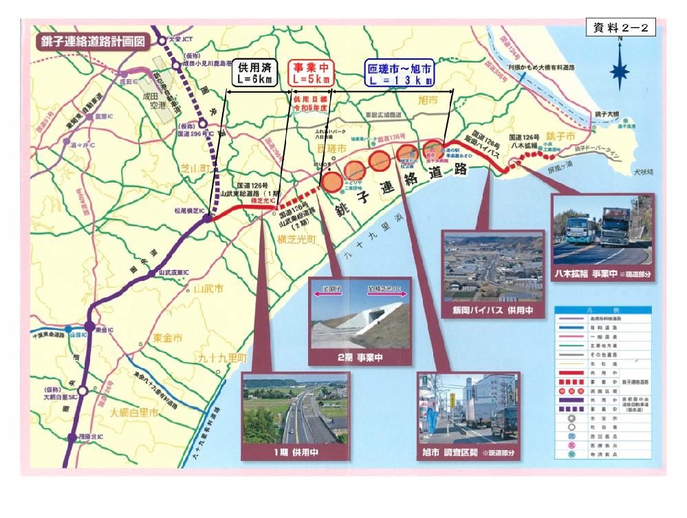 千葉県の銚子連絡道路は何故松尾横芝IC~横芝光IC間のままなのですか?