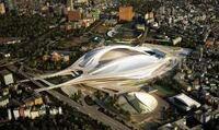 オリンピック競技場のザハ案が白紙撤回されたのは何故ですか