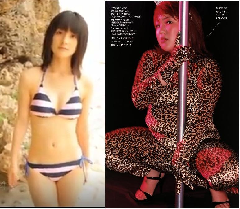 女性芸能人・アイドルの身長クイズです。 ぽっちゃり女子の柳原可奈子さん ビキニが似合う嗣永桃子さん 背比べしたら、どっちの方が背が高いでしょう。 2人は以前、TVで共演しています。