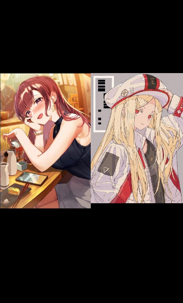 どちらの絵柄の方が好きですか?