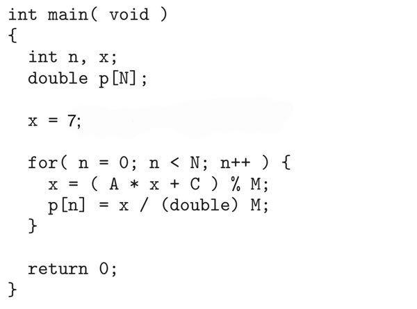 このmain関数を表示させたいのですが、 printfの中身をどのようにしたら良いのでしょうか。