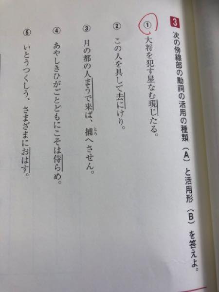 1と4ってそれぞれ「なむ」「こそ」があるので活用形はそれぞれ連体形と已然形じゃないんですか?