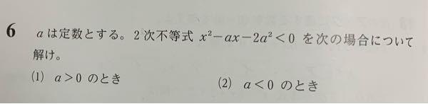 高一です この問題を平方完成して解こうとしました (1)を解こうとしてたとして、平方完成後のYに0を代入するけど、aに 0を代入してはいけない理由はなんですか?